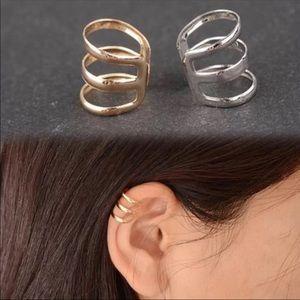 Jewelry - 🌸Triple Band Ear Cuff- silver